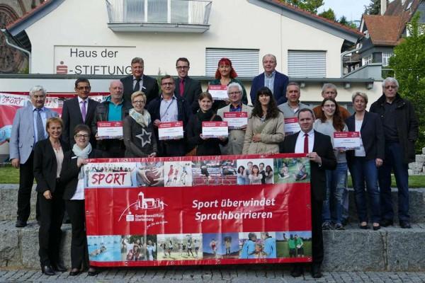 Spendenübergabe der Sparkassenstiftung Starkenburg