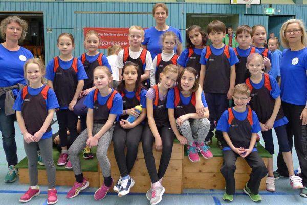 Leichtathletik Nachwuchs Hallensportfest Lorsch 2017